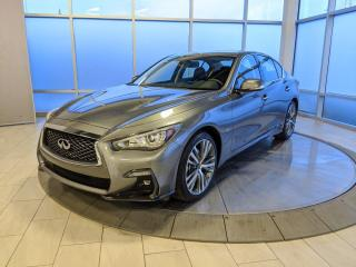 New 2020 Infiniti Q50 3.0t Signature Edition for sale in Edmonton, AB