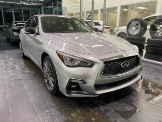 New 2020 Infiniti Q50 RED SPORT I-LINE for sale in Edmonton, AB