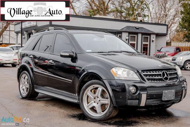 2007 Mercedes-Benz ML63 AMG 6.2L