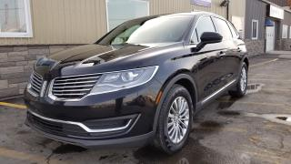 Used 2016 Lincoln MKX OFF LEASE-AWD-NAV-PAN ROOF-HEATED LEATHER-REAR CAM for sale in Tilbury, ON