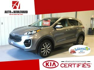 Used 2017 Kia Sportage EX AWD 11 000KM WOW APPLE ANDROID for sale in Notre-Dame-des-Pins, QC
