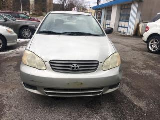 Used 2003 Toyota Corolla CE for sale in Scarborough, ON