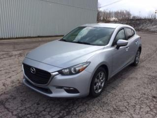 Used 2017 Mazda MAZDA3 Berline 4 portes, boîte automatique, GX for sale in Quebec, QC
