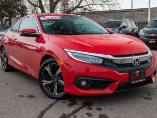 Used 2017 Honda Civic COUPE Touring 2dr FWD Coupe for sale in Brantford, ON