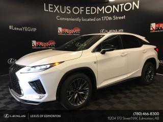 Used 2020 Lexus RX 350 DEMO UNIT - F SPORT SERIES 2 for sale in Edmonton, AB