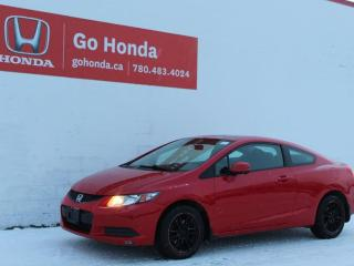 Used 2013 Honda Civic Cpe Lx Coupé for sale in Edmonton, AB
