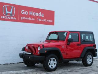 Used 2016 Jeep Wrangler Sport 4WD for sale in Edmonton, AB