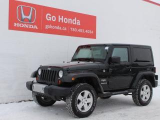 Used 2012 Jeep Wrangler SAHARA 4WD for sale in Edmonton, AB
