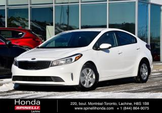 Used 2018 Kia Forte LX DEAL PENDING AUTO AUTO AC CRUISE BLUETOOTH for sale in Lachine, QC