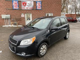 Used 2010 Chevrolet Aveo LT/2 SETS OF TIRES/NOP ACCIDENT/SAFETY INCLUDED for sale in Cambridge, ON