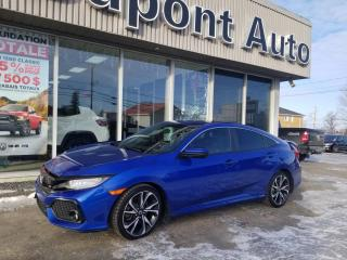 Used 2017 Honda Civic 4 portes, boîte manuelle, Si for sale in Alma, QC
