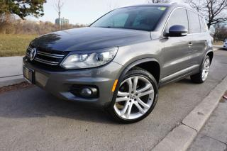 Used 2012 Volkswagen Tiguan R-LINE / NO ACCIDENTS / WELL MAINTAINED / for sale in Etobicoke, ON