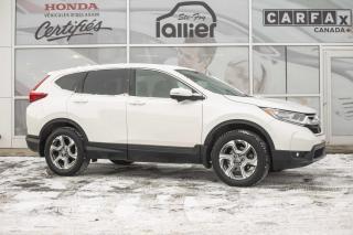 Used 2017 Honda CR-V EX-L AWD ***JAMAIS ACCIDENTE*** for sale in Québec, QC