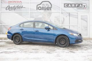 Used 2015 Honda Civic EX ***jamais accidenté*** for sale in Québec, QC