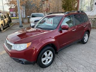 Used 2009 Subaru Forester X Premium 2.5L/4WD/NO ACCIDENT/SAFETY INCL for sale in Cambridge, ON
