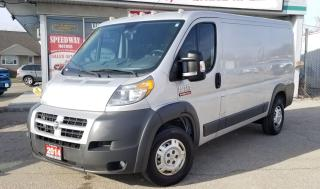 Used 2014 RAM ProMaster Cargo Van -Accident Free, Safet for sale in Mississauga, ON