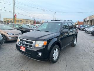 Used 2010 Ford Escape XLT 4WD for sale in Hamilton, ON