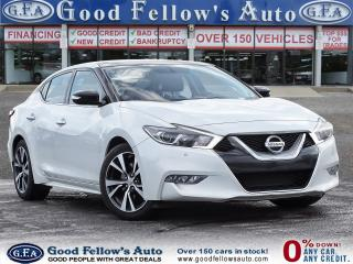 Used 2017 Nissan Maxima SL MODEL, POWER SEATS, PARKING ASSIST REAR, NAVI for sale in Toronto, ON