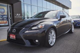 Used 2015 Lexus IS 250 for sale in Burlington, ON