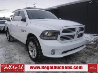 Used 2014 RAM 1500 Sport 4D Crew CAB 4WD for sale in Calgary, AB