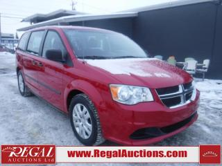 Used 2014 Dodge Grand Caravan 4D Wagon for sale in Calgary, AB
