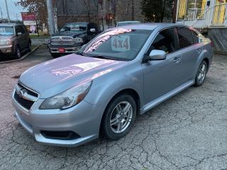 Used 2014 Subaru Legacy 2.5i/4WD/2 SETS OF TIRES/NO ACCIDENT/CERTIFIED for sale in Cambridge, ON
