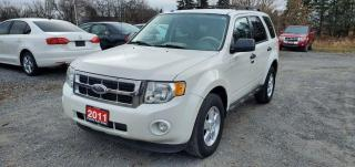 Used 2011 Ford Escape XLT AWD LOW KMS CERTIFIED for sale in Stouffville, ON