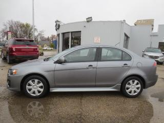 Used 2016 Mitsubishi Lancer 4dr Sdn ES - Auto/Heated Seats/Bluetooth for sale in Winnipeg, MB