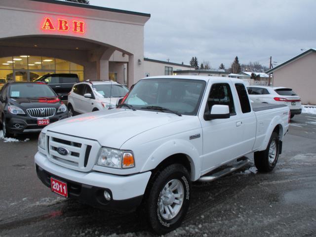 2011 Ford Ranger S/Cab Sport 4X4