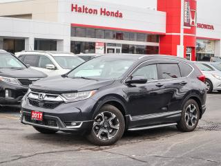 Used 2017 Honda CR-V TOURING|SERVICE HISTORY ON FILE|ACCIDENT FREE for sale in Burlington, ON