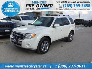 Used 2011 Ford Escape Limited for sale in Whitby, ON