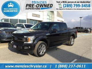 Used 2018 Ford F-150 XLT 4x4, Navigation, Cam, One Owner, Clean Carfax for sale in Whitby, ON