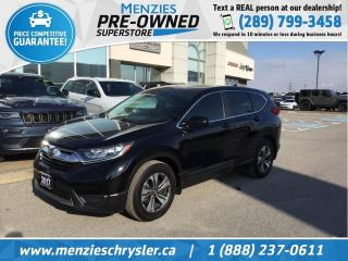 Used 2017 Honda CR-V LX, Bluetooth, Cam, One Owner, Clean Carfax for sale in Whitby, ON