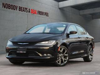 Used 2015 Chrysler 200 New Brakes*Rem Start*Cam*Heated Seats/Wheel* for sale in Mississauga, ON