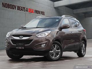 Used 2014 Hyundai Tucson GLS*New Brakes*Spoiler*No Accidents* for sale in Mississauga, ON