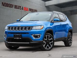 Used 2019 Jeep Compass Limited*Cam*Rem Start*Appleplay*Clean* for sale in Mississauga, ON