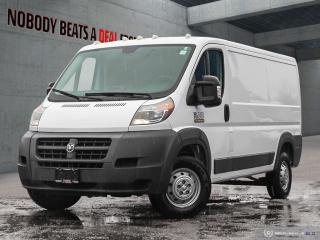 Used 2017 RAM Cargo Van ProMaster Low Roof*Cam*Park Assist*Clean*No Accidents* for sale in Mississauga, ON