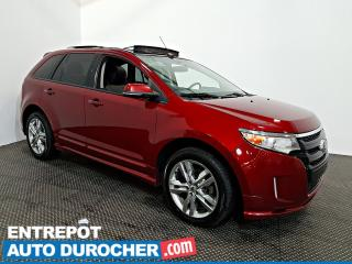 Used 2013 Ford Edge Sport AWD NAVIGATION - Toit Ouvrant - A/C - Cuir for sale in Laval, QC
