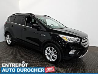 Used 2017 Ford Escape SE AWD NAVIGATION - AIR CLIMATISÉ -Caméra de Recul for sale in Laval, QC