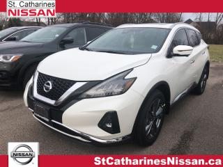 New 2020 Nissan Murano Platinum AWD CVT for sale in St. Catharines, ON