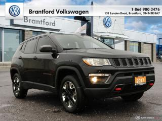 Used 2017 Jeep Compass 4x4 Trailhawk for sale in Brantford, ON