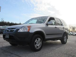 Used 2003 Honda CR-V 4WD EX /ONE OWNER / ACCIDENT FREE for sale in Newmarket, ON