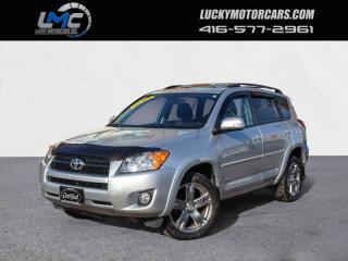 Used 2010 Toyota RAV4 4WD SPORT-BLUETOOTH-SUNROOF-89KMS for sale in Toronto, ON