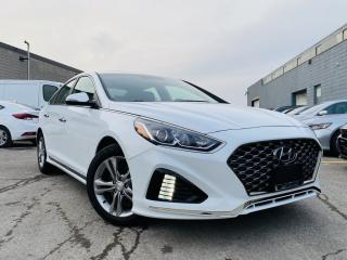 Used 2019 Hyundai Sonata SPORTS|SUNROOF|LEATHER|ALLOYS|REARVIEW|POWER SEATS for sale in Brampton, ON