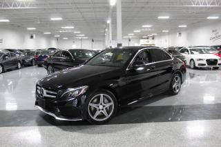Used 2016 Mercedes-Benz C-Class C300 4MATIC I NO ACCIDENTS I A.M.G I NAVIGATION I REAR CAM for sale in Mississauga, ON