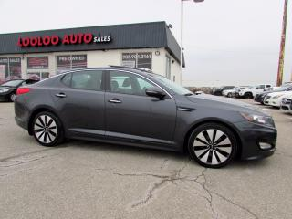 Used 2011 Kia Optima SX Navigation Panoramic Roof Bluetooth Certified for sale in Milton, ON