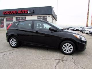 Used 2016 Hyundai Accent SE 5 Speed Manual Bluetooth No Accident Certified 2YR Warranty for sale in Milton, ON