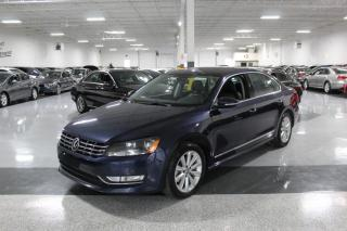 Used 2012 Volkswagen Passat TDI HIGHLINE I NO ACCIDENTS I LEATHER I SUNROOF I HEATDSEAT for sale in Mississauga, ON