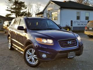 Used 2010 Hyundai Santa Fe 1-Owner AWD V6 GL Sunroof Bluetooth Heated Power Seats for sale in Sutton, ON
