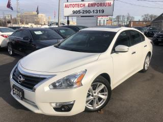 Used 2015 Nissan Altima SL Tech Pkg Navigation/Sunroof/Blind Spot/Htd Leather for sale in Mississauga, ON